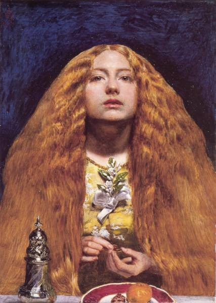 Millais The Bridesmaid